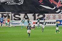 São Paulo (SP), 16/05/2021 - CORINTHIANS-PALMEIRAS - Luiz Adriano, do Palmeiras comemora o segundo gol. Corinthians e Palmeiras se enfrentam em semifinal do Campeonato Paulista 2021, na Neo Quimica Arena, tarde deste domingo (16).