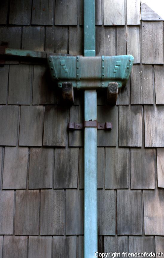 Greene & Greene: Gamble House. Detail.   Photo '85.