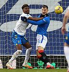 13.02.2021 Rangers v Kilmarnock: Aaron Tshibola and Borna Barisic