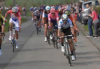 Alejandro Valverde (ESP/Movistar)<br /> <br /> 103rd Ronde van Vlaanderen 2019<br /> One day race from Antwerp to Oudenaarde (BEL/270km)<br /> <br /> ©kramon