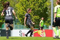 Lenie Onzia (8) of OHL is celebrating her goal during a female soccer game between Standard Femina de Liege and Oud Heverlee Leuven on the 10th and last matchday in play off 1 of the 2020 - 2021 season of Belgian Scooore Womens Super League , saturday 29 th of May 2021  in Angleur , Belgium . PHOTO SPORTPIX.BE   SPP   SEVIL OKTEM