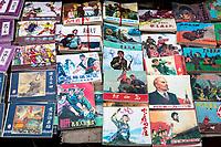 Longji, China.  Communist Party Literature on Sale.