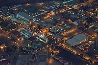 Pueblo, Colorado.  Riverwalk at night.