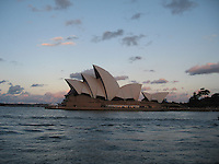 Sunset on Sydney Opera House