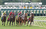1 August 10: The start of The Jersey Derby on Haskell Invitational Day at Monouth Park in Oceanport, New jersey