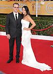 Matt Damon and Luciana Bozán Barroso attends The 20th SAG Awards held at The Shrine Auditorium in Los Angeles, California on January 18,2014                                                                               © 2014 Hollywood Press Agency