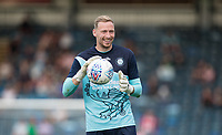 Goalkeeper Ryan Allsop of Wycombe Wanderers pre match during the 2018/19 Pre Season Friendly match between Wycombe Wanderers and Brentford at Adams Park, High Wycombe, England on 17 July 2018. Photo by Andy Rowland.