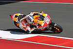 Dani Pedrosa (26) in action during the Red Bull MotoGP of the Americas practice session at Circuit of the Americas racetrack in Austin,Texas. ..