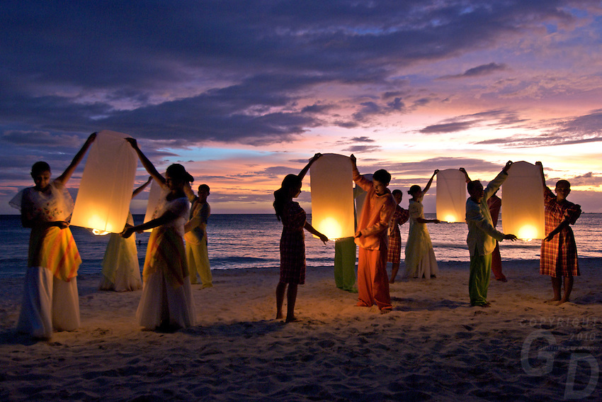 Philippine culture dance troup BORACAY ISLAND PHILIPPINES Philippine culture dance troup BORACAY ISLAND PHILIPPINES