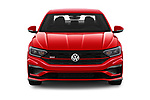 Car photography straight front view of a 2019 Volkswagen Jetta GLI-S 4 Door Sedan