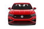 Car photography straight front view of a 2019 Volkswagen Jetta GLI-S 4 Door Sedan