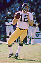 Pittsburgh Steelers Terry Bradshaw (12) during a game from his 1975 season with the Pittsburgh Steelers. Terry Bradshaw played 14 seasons, all for the Pittsburgh Steelers, was a 3-time Pro Bowler, 1-time first team Pro Bowler and was inducted to the Pro Footbal Hall of Fame in 1989.(SPORTPICS)