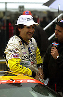 Ron Fellows is interviewed in Victory Lane..39th Rolex 24 at Daytona, 3/4 February,2001 Daytona International Speedway  Daytona Beach,Florida,USA.©F.Peirce Williams 2001 .