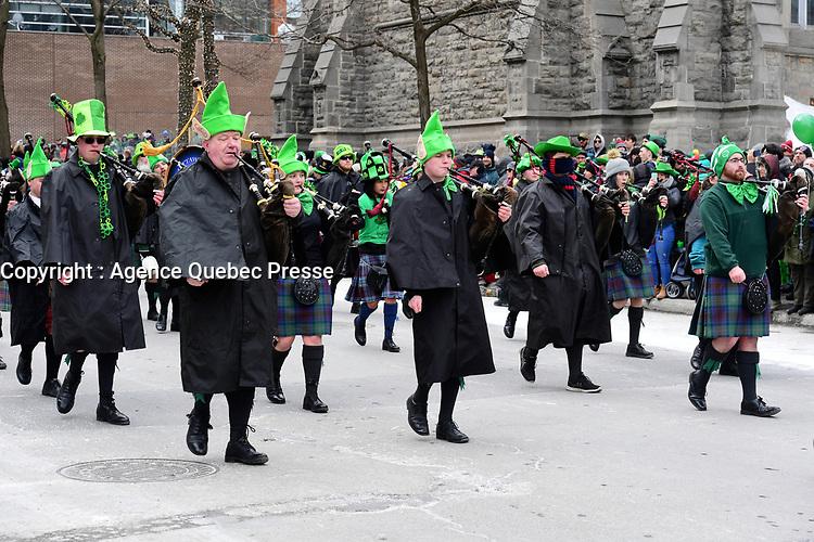 St-Patrick<br />  2019<br /> <br /> PHOTO : Agence Quebec Presse