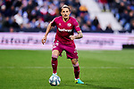 Ljubomir Fejsa of Deportivo Alaves during La Liga match between CD Leganes and Deportivo Alaves at Butarque Stadium in Leganes, Spain. February 29, 2020. (ALTERPHOTOS/A. Perez Meca)