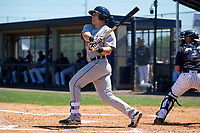 Detroit Tigers Dylan Burdeaux (21) during a Minor League Spring Training game against the New York Yankees on March 21, 2018 at the New York Yankees Minor League Complex in Tampa, Florida.  (Mike Janes/Four Seam Images)