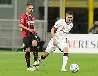 Milano 12-05 2021<br /> Stadio Giuseppe Meazza<br /> Serie A  Tim 2020/21<br /> Milan - Cagliari<br /> Nella foto: Ismael Bennacer                                     <br /> Antonio Saia Kines Milano