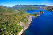 Littoral de Hienghène et ses falaises de Lindéralique, Nord-Est de la Nouvelle-Calédonie
