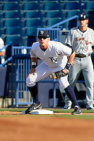 Tampa Yankees first baseman Matt Snyder #29 during a game against the Lakeland Flying Tigers at Steinbrenner Field on April 6, 2013 in Tampa, Florida.  Lakeland defeated Tampa 8-3.  (Mike Janes/Four Seam Images)
