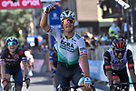 Peter Sagan (SVK) Bora-Hansgrohe wins Stage 10 of the 2021 Giro d'Italia, running 139km from L'Aquila to Foligno, Italy. 17th May 2021.  <br /> Picture: LaPresse/Gian Mattia D'Alberto | Cyclefile<br /> <br /> All photos usage must carry mandatory copyright credit (© Cyclefile | LaPresse/Gian Mattia D'Alberto)