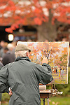 24 October 2009: The Paddock at Keeneland Race Course October 24, 2009.
