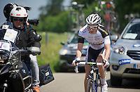 David Van Der Poel (NLD/BKCP-PowerPlus)<br /> <br /> 2014 Belgium Tour<br /> stage 4: Lacs de l'Eau d'Heure - Lacs de l'Eau d'Heure (178km)