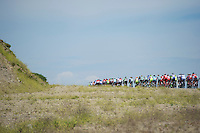 stretched peloton rolling on<br /> <br /> Tour of Turkey 2014<br /> stage 7