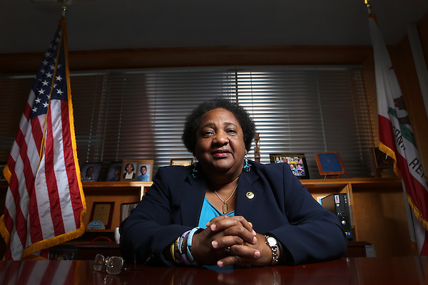 March 26, 2015. San Diego , CA. USA Shirley Weber represents the 79th Assembly District in San Diego.  Photos by Jamie Scott Lytle