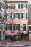 House Where Lincoln Died, Washington DC, USA.