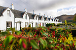 Schottland, Isle of Arran, Catacol, Haeuser, Gebaeude, Haeuserzeile, Haeuserreihe, Reihe, Aussenansicht, Zwoelf Apostel, niemand, Europa, Grossbritannien, Unitary Authority North Ayrshire, Firth of Clyde, Kilbrennan-Sund, Irische See, Reise, Travel, 2009<br /> <br /> Engl.: Europe, Great Britain, Scotland, Unitary Authority North Ayrshire, Firth of Clyde, Kilbrennan-Sund, Isle of Arran, Catacol, houses, buildings, exterior view, 2009