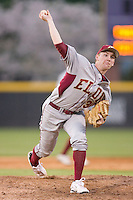 Relief pitcher John Brebbia #30 of the Elon Phoenix in action versus the East Carolina Pirates at Clark-LeClair Stadium March 29, 2009 in Greenville, North Carolina. (Photo by Brian Westerholt / Four Seam Images)