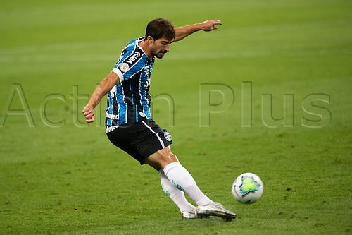 27th December 2020; Arena de Gremio, Porto Alegre, Brazil; Brazilian Serie A, Gremio versus Atletico Goianiense; Lucas Silva of Gremio
