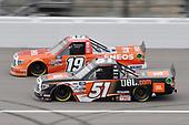#51: Chandler Smith, Kyle Busch Motorsports, Toyota Tundra JBL #19: Derek Kraus, McAnally Hilgemann Racing, Toyota Tundra ENEOS
