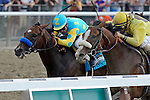 John Velazquez aboard Union Rags wins the 144th Belmont Stakes at Belmont Park  in Elmont, NY on 06/09/12. (Ryan Lasek/ Eclipse Sportswire)