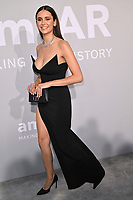 ANTIBES, FRANCE. July 16, 2021: Nina Dobrev at the amfAR Cannes Gala 2021, as part of the 74th Festival de Cannes, at Villa Eilenroc, Antibes.<br /> Picture: Paul Smith / Featureflash