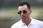 20 June 2009: Jeff Bloom of West Point Thoroughbreds at Hollywood Park in Inglewood, CA