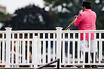 """ELMONT, NY - OCTOBER 08: Photo of Sam """"The Bugler"""" Grossman, on Jockey Club Gold Cup Day at Belmont Park on October 8, 2016 in Elmont, New York. (Photo by Douglas DeFelice/Eclipse Sportswire/Getty Images)"""
