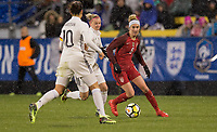 Columbus, Ohio - Thursday March 01, 2018: Morgan Brian during a 2018 SheBelieves Cup match between the women's national teams of the United States (USA) and Germany (GER) at MAPFRE Stadium.