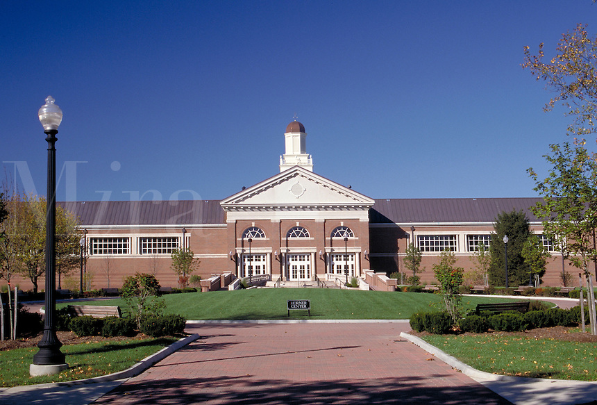 The Horner Center at Hanover College, founded in 1827 at Hanover, Indiana. Hanover Indiana.