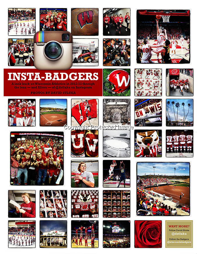 Photo spread in Varsity featuring photos posted on my personal Instagram account. (Photos by David Stluka)