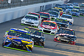 Monster Energy NASCAR Cup Series<br /> ISM Connect 300<br /> New Hampshire Motor Speedway<br /> Loudon, NH USA<br /> Sunday 24 September 2017<br /> Kyle Busch, Joe Gibbs Racing, M&M's Caramel Toyota Camry and Clint Bowyer, Stewart-Haas Racing, Haas Automation Ford Fusion<br /> World Copyright: Nigel Kinrade<br /> LAT Images
