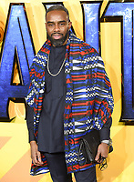 """Chucky Venn<br /> arriving for the """"Black Panther"""" premiere at the Hammersmith Apollo, London<br /> <br /> <br /> ©Ash Knotek  D3376  08/02/2018"""