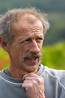 Christian Vache, owner and winemaker.  Domaine la Monardiere Monardière, Vacqueyras, Vaucluse, Provence, France, Europe