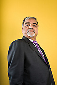 Jayant Deo, Managing Director and CEO, Indian Energy Exhange poses for a portrait in his office in New Delhi, India.
