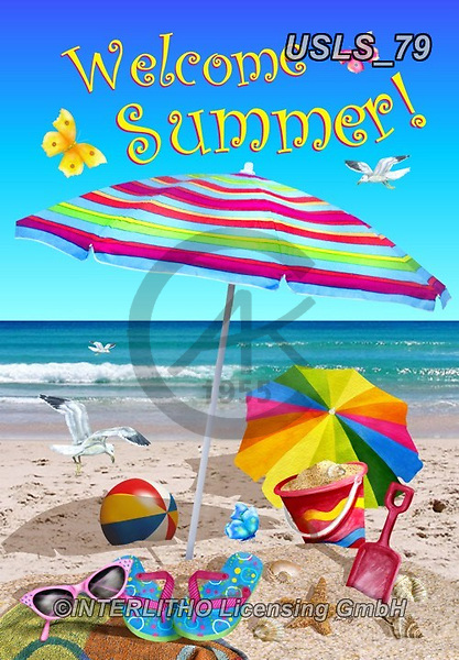 Lori, STILL LIFE STILLEBEN, NATURALEZA MORTA, paintings+++++1-BeachUmbrellas2,USLS79,#i#,beach,fun,summer, EVERYDAY