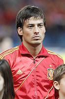 Spain's national team David Silva during match. October 16, 2012. (ALTERPHOTOS/Alvaro Hernandez) /NORTEPhoto