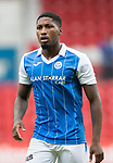 St Johnstone FC season 2017-18<br />Romaine Habran<br />Picture by Graeme Hart.<br />Copyright Perthshire Picture Agency<br />Tel: 01738 623350  Mobile: 07990 594431