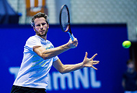 Rotterdam, Netherlands, December 16, 2017, Topsportcentrum, Ned. Loterij NK Tennis,  Jasper Smit (NED) <br /> Photo: Tennisimages/Henk Koster