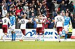 St Johnstone v RangersÖ21.05.17     SPFL    McDiarmid Park<br /> Jon Toral celebrates his goal with provider James Tavernier<br /> Picture by Graeme Hart.<br /> Copyright Perthshire Picture Agency<br /> Tel: 01738 623350  Mobile: 07990 594431