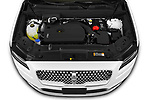 Car Stock 2021 Lincoln Nautilus Standard 5 Door SUV Engine  high angle detail view